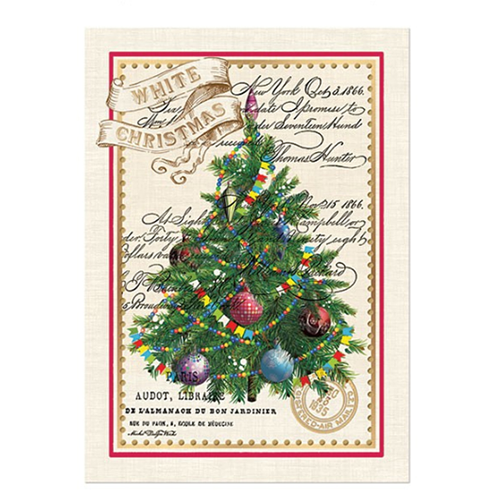 Awesome Michel Design Works WHITE CHRISTMAS, Charming Kitchen Tea Towel U2022 Homeware  Secrets