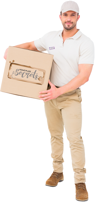 Homeware Secrets Delivery Man