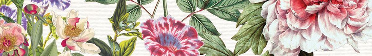 Michel Design Works floral strip brands page banner