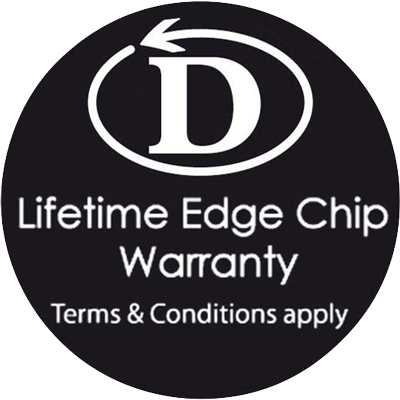 Dudson Edge Chip Warranty Logo