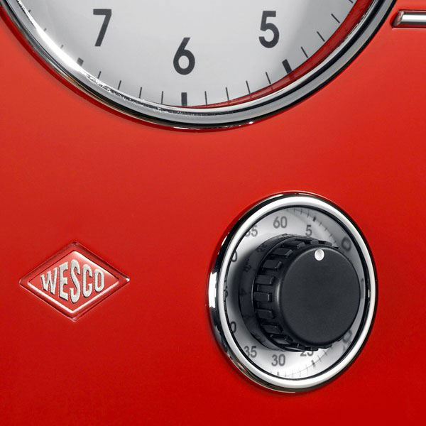 Wesco Kitchen Clock Timer Close-up