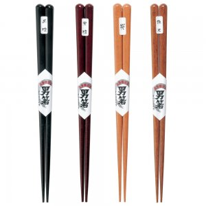031439-031446-031477-031453 Natural Japanese Wood, CLASSIC CHOPSTICKS group