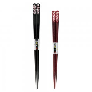 032689-032696 Hanasakura of Four Seasons 四季の花 桜, Black Red CHOPSTICKS