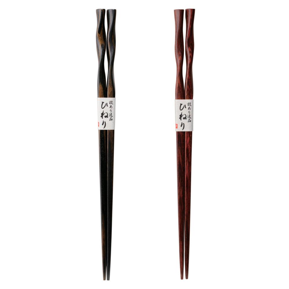 105918-105925 Natural Japanese Wood, TWIST CHOPSTICKS group