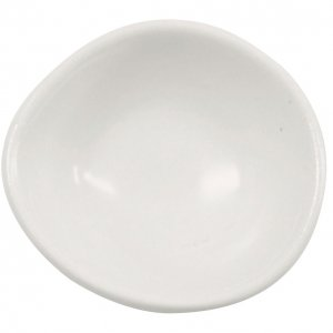 CSA12 Santo Alessi White Salt Pepper Dish