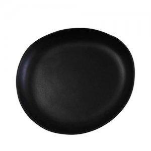 CSA15 Santo Alessi Black Risotto Plate