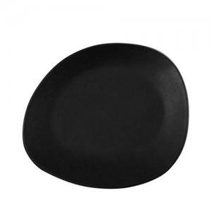 CSA21 Santo Alessi Black Entree Plate