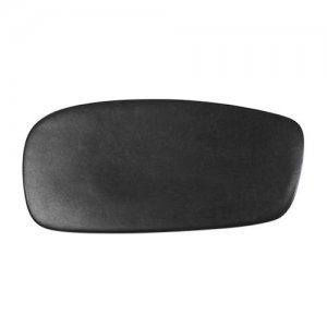 CSA5 Santo Alessi Black Rectangular Plate