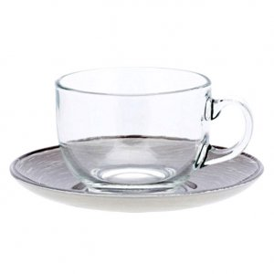 Luminarc STONEMANIA GREY, Cup & Saucer, 220ml - view 2