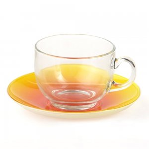 Luminarc LEMON FIZZ, Cup & Saucer, 220ml