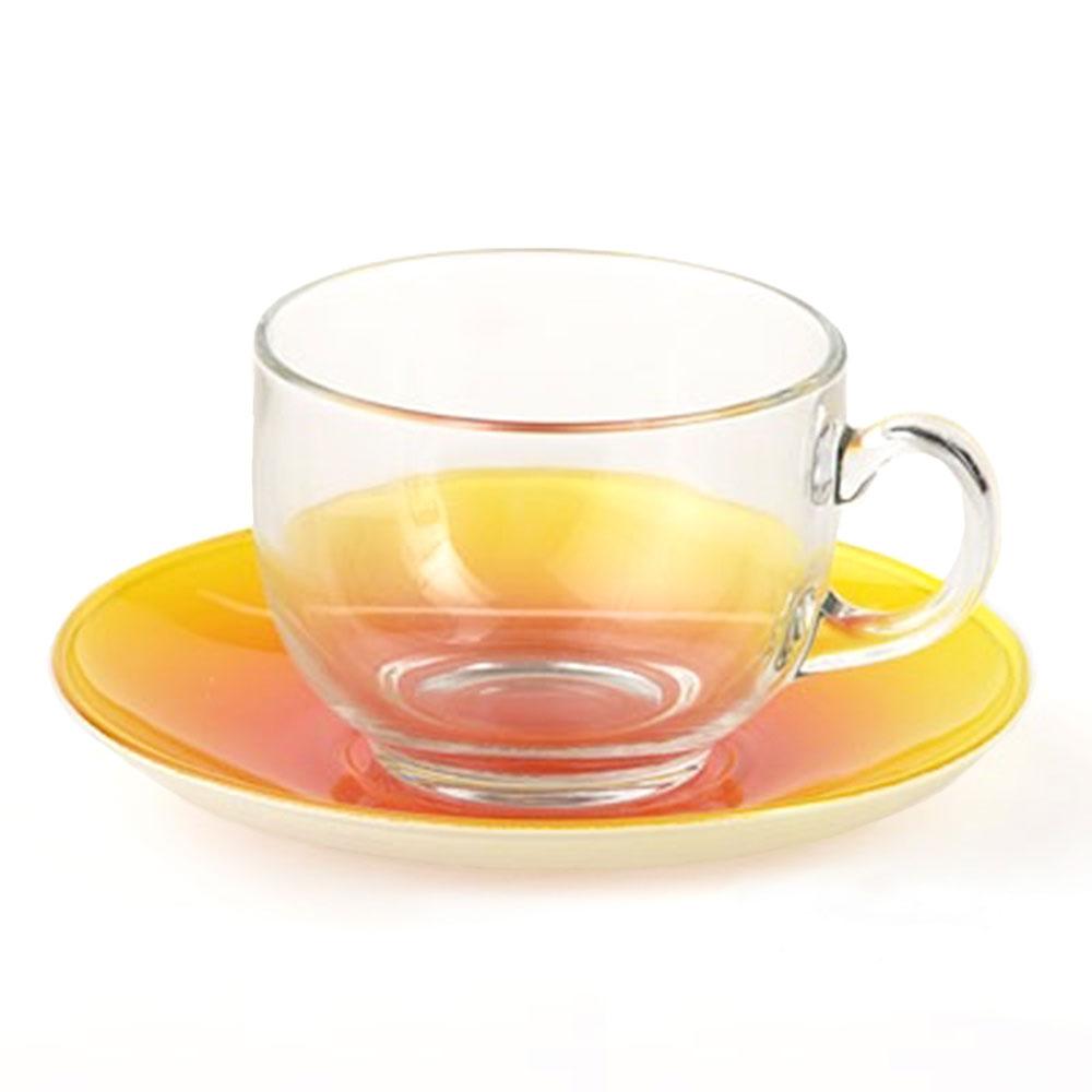 Luminarc LEMON FIZZ, Cup & Saucer, 220ml