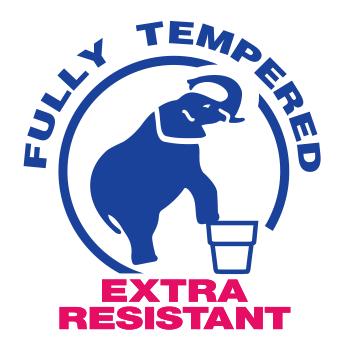 logotypes tempered glass