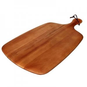 ZU1001 Zuhause Marta Premium Acacia Wood MEDIUM PADDLE BOARD
