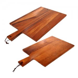 ZU1002-ZU1003 Zuhause Zuhause Artisan Premium Acacia Wood PADDLE BOARD