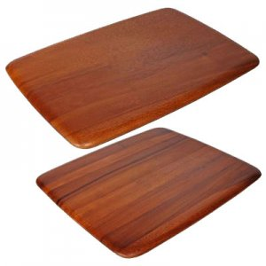 ZU1007-ZU1008 Zuhause Tablet Premium Acacia Wood Chopping PRESENTATION BOARD