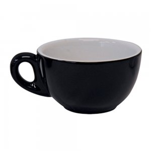 CR01 Roma Cappuccino Black 190ml Cup