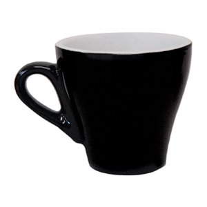 CR43 Roma Tulip Black 140ml Cup