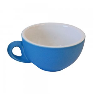 CR65 Roma Cappuccino Matte Blue 190ml Cup