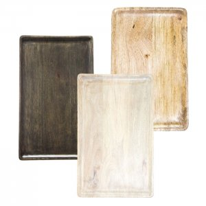 Chef Inox Mango wood Rectangle board 360x180x15 Mix