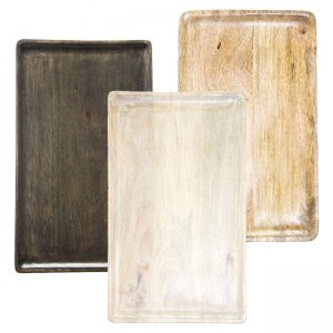 Chef Inox Mango wood Rectangle board 400x200x15 Mix