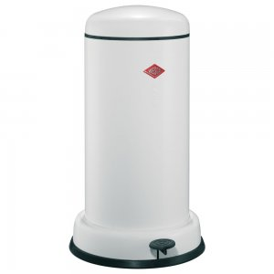 Wesco Baseboy 20L WASTE BIN, White