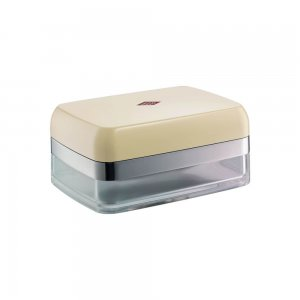 Wesco Butter Dish Almond 322844-23