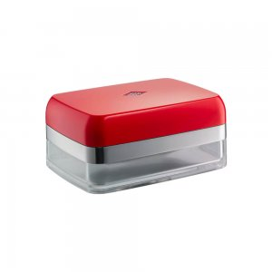 Wesco Butter Dish Red 322844-02