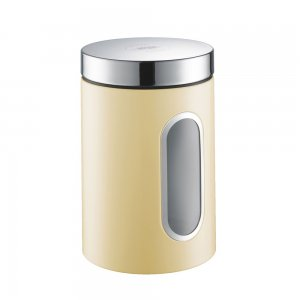 Wesco Canister with Window 2L Almond 321204-23