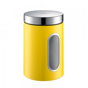 Wesco Canister with Window 2L Lemon Yellow 321204-19