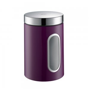 Wesco Canister with Window 2L Lilac 321204-36
