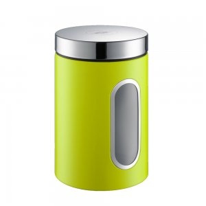 Wesco Canister with Window 2L Lime Green 321204-20