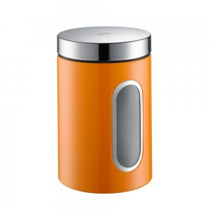 Wesco Canister with Window 2L Orange 321204-25