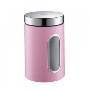 Wesco Canister with Window 2L Pink 321204-26