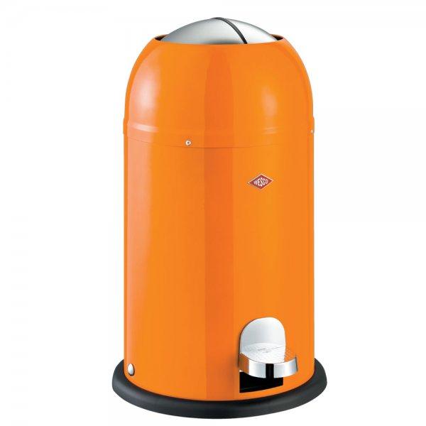 wesco kickmaster junior 12l waste bin orange homeware secrets. Black Bedroom Furniture Sets. Home Design Ideas