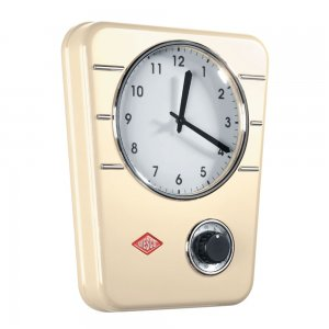 Wesco Kitchen Clock Almond 322401-23