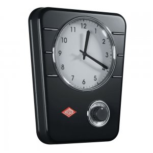 Wesco Kitchen Clock Black 322401-62
