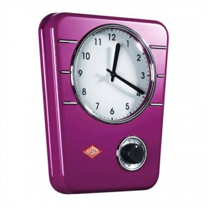 Wesco Kitchen Clock Lilac 322401-36