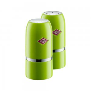 Wesco Salt & Pepper Shaker Set Lime Green 322854-20