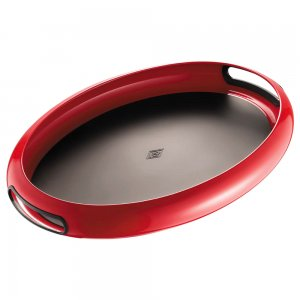 Wesco Spacy Tray Oval Red 322102-02