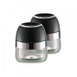 Wesco Spice Canister Set Black 322776-62