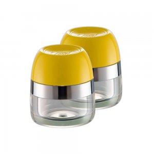 Wesco Spice Canister Set Lemon Yellow 322776-19