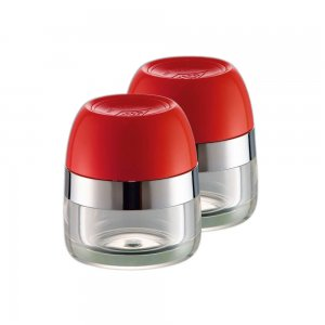 Wesco Spice Canister Set Red 322776-02