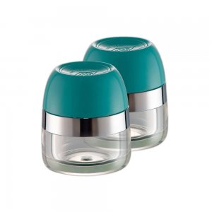 Wesco Spice Canister Set Turquoise 322776-54