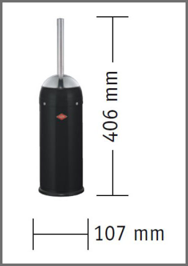 Wesco Toilet Brush Dimensions